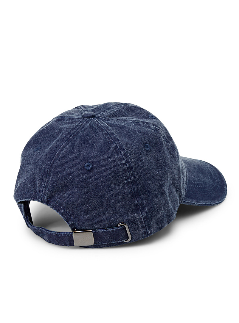 Faded denim essential cap - Caps - Blue