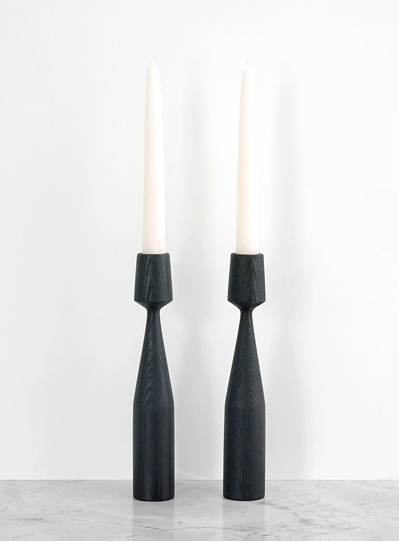 Albert ash candlestick set  With candles