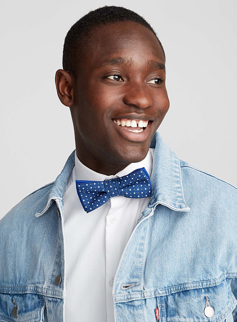 Starry night bow tie - Coo-Mon - Blue