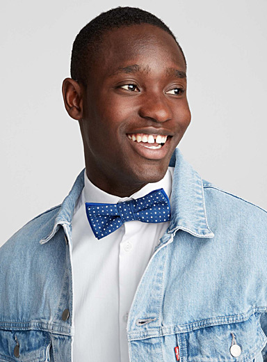 Starry night bow tie