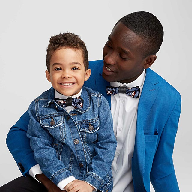 father-and-son-recycled-leather-accent-bow-ties