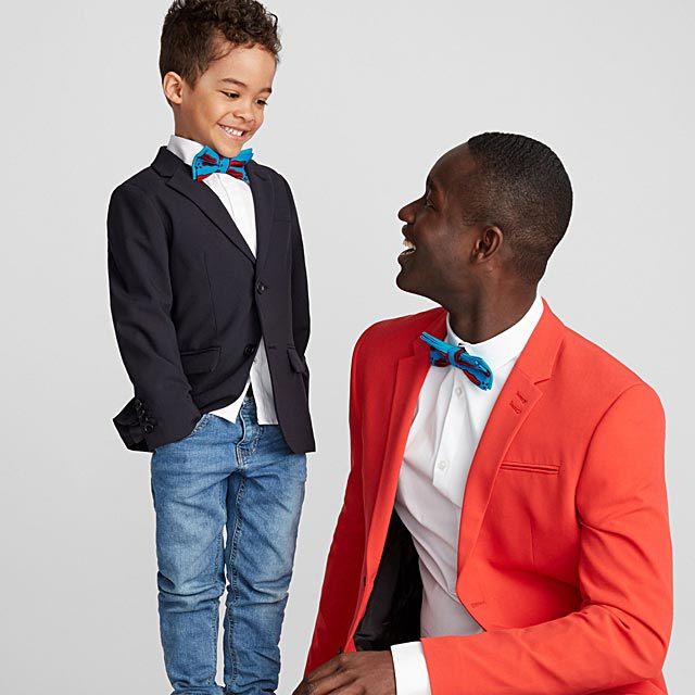 father-and-son-kiss-pattern-bow-ties