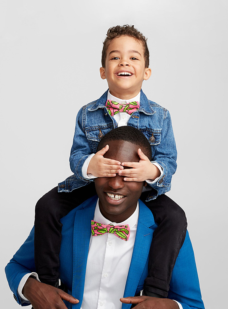 father-and-son-bright-foliage-bow-ties