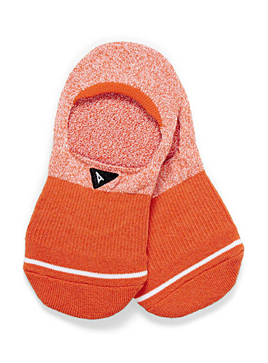 Arvin goods Orange Cushioned foot liners for women