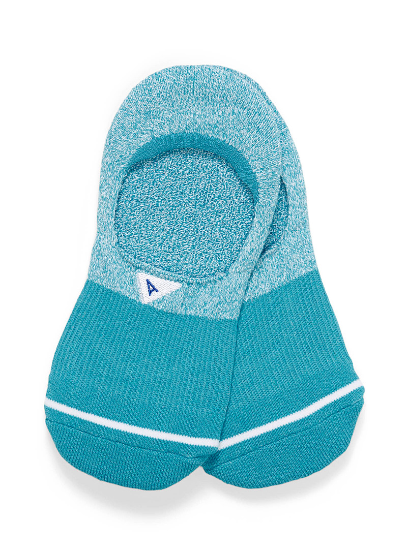 Arvin goods Blue Blue block foot liners for women