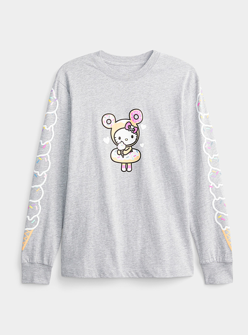 Tokidoki Grey Hello Kitty sweets tee for women