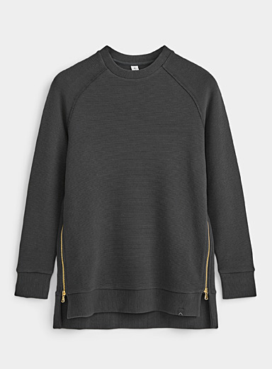 Le sweat long rayures ottoman Manning