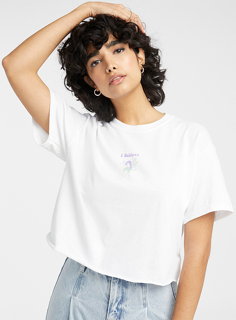 Charming fairy cropped T-shirt