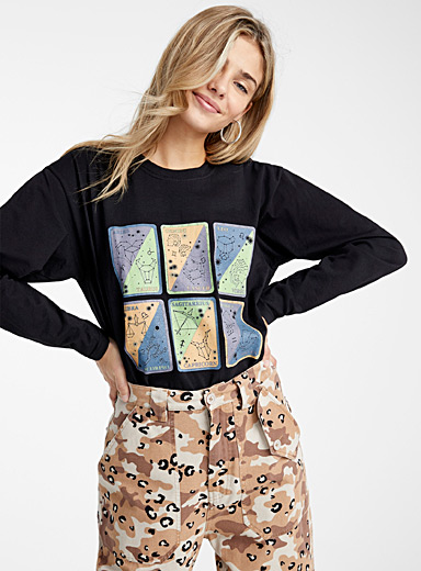 Astrology map tee