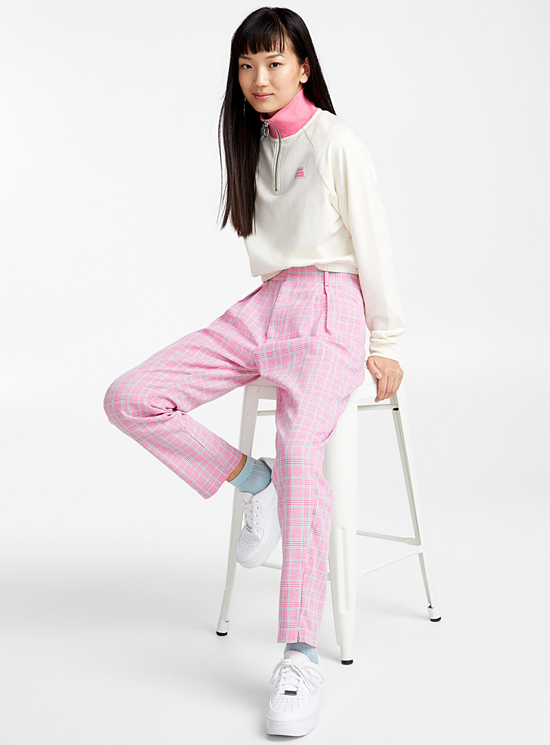 Candy check pant - Straight