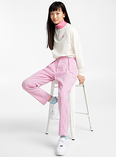 Candy check pant