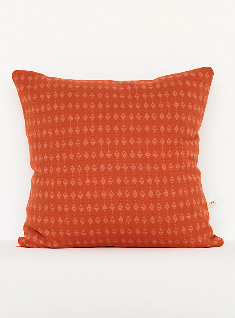 Noujica Orange Graphic cushion  20