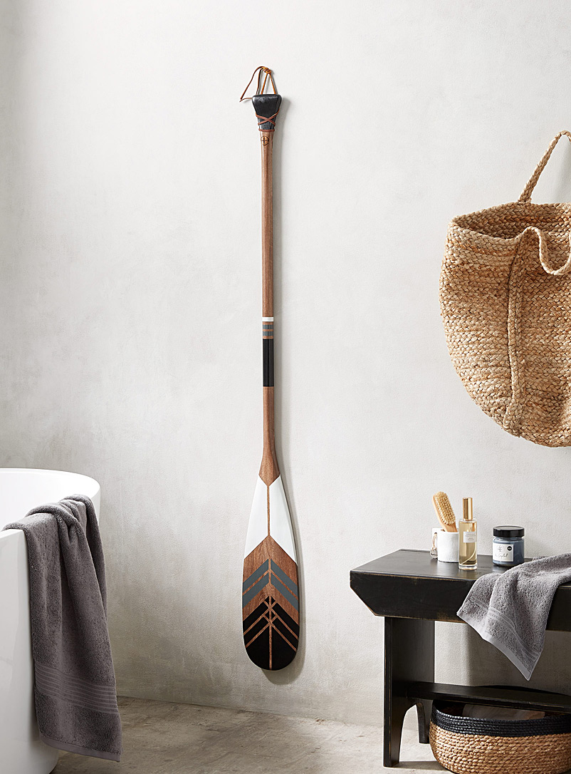 The Eternal decorative paddle Offered with or without wall mount