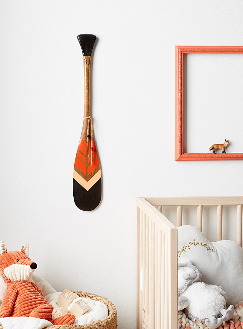 Onquata Orange The Spark mini decorative paddle