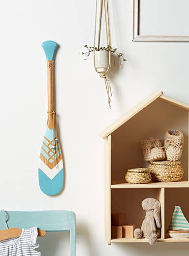 The Azure mini decorative paddle