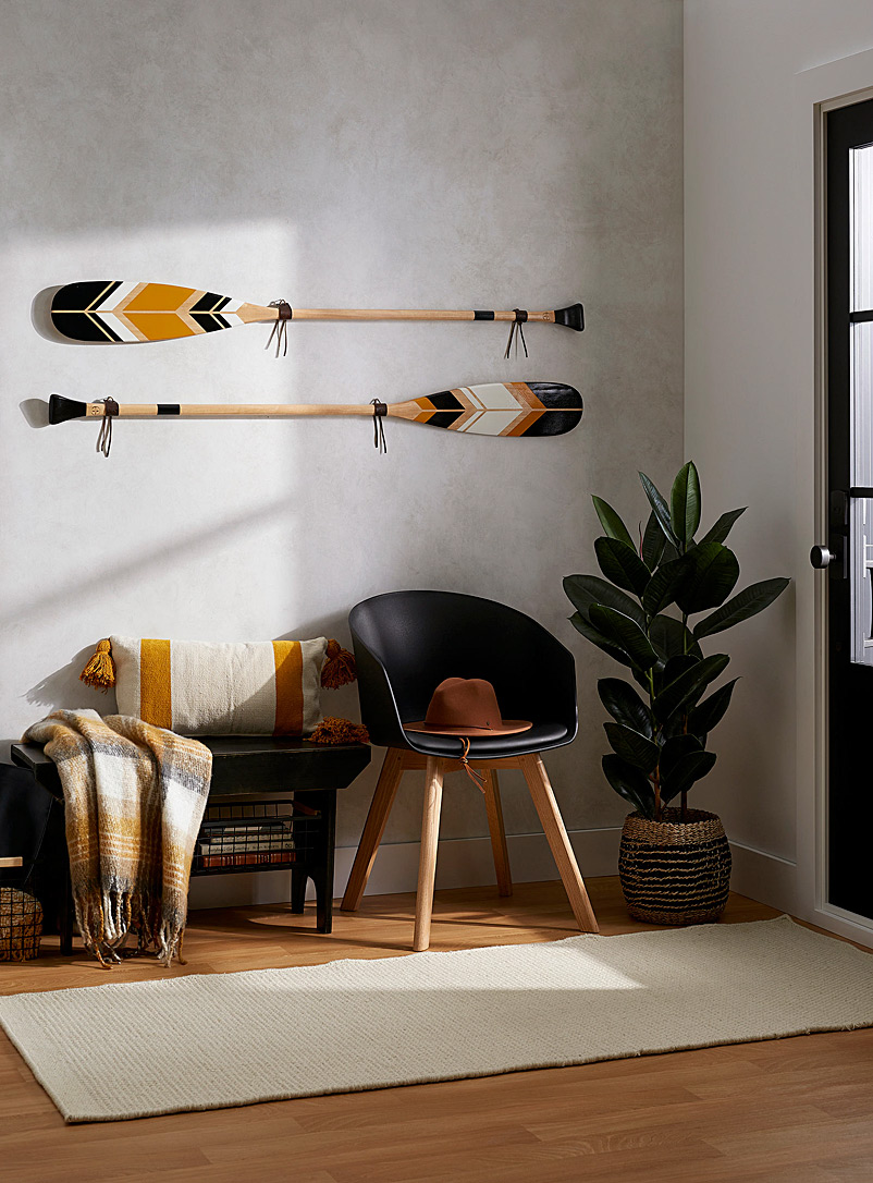 Onquata Assorted Les Intemporelles decorative paddle set Offered with or without wall mounts