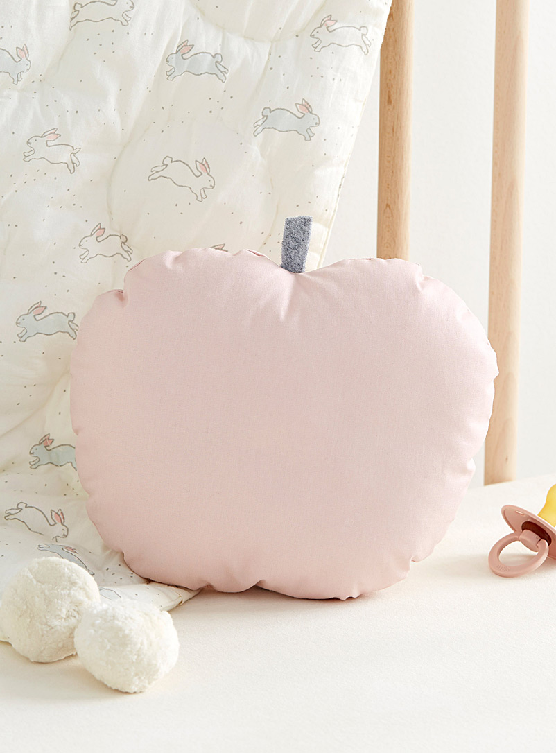 Le petit coussin pomme rose - The Butter Flying - Rose