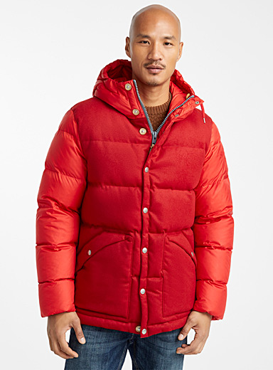 Deep Powder puffer jacket