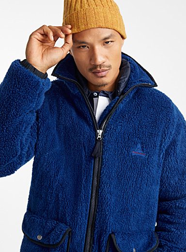 Farm sherpa jacket