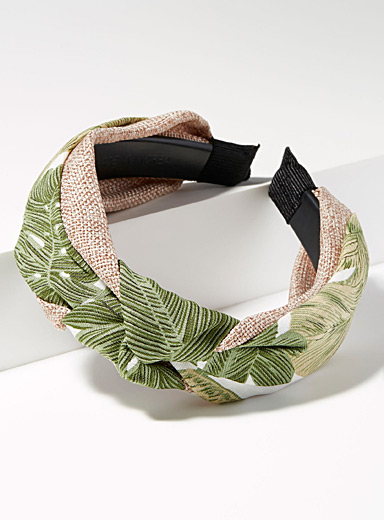 Knotted textured headband