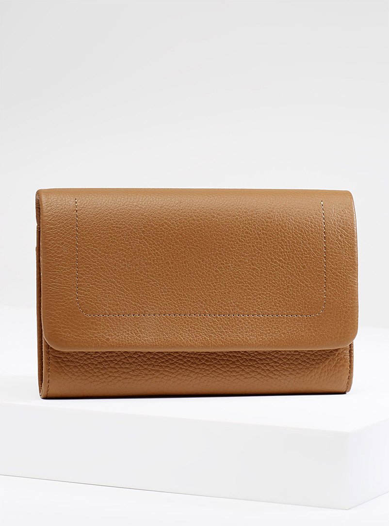 Remnant wallet - Leather - Brown