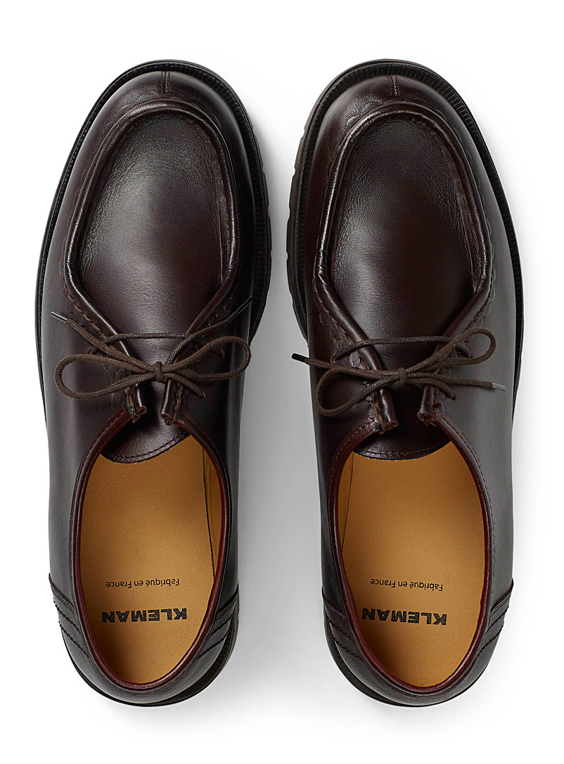 Padror derby shoe - Dress - Ruby Red