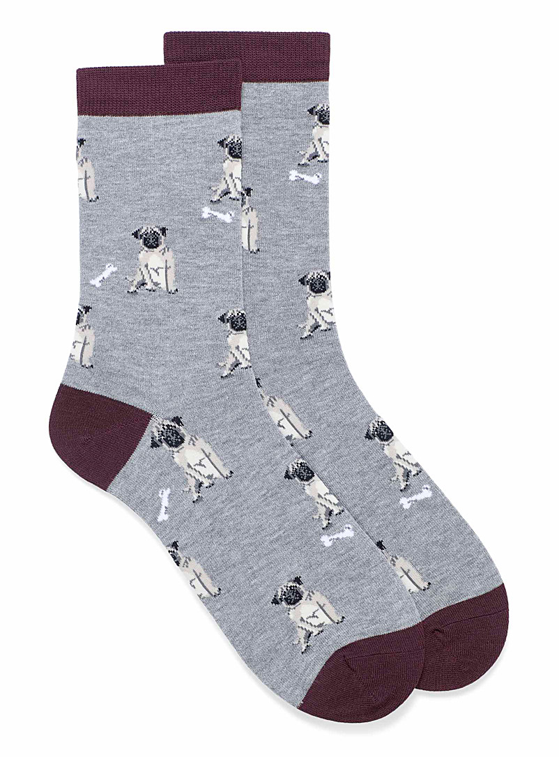 Thought Copper Lyman canine socks for men