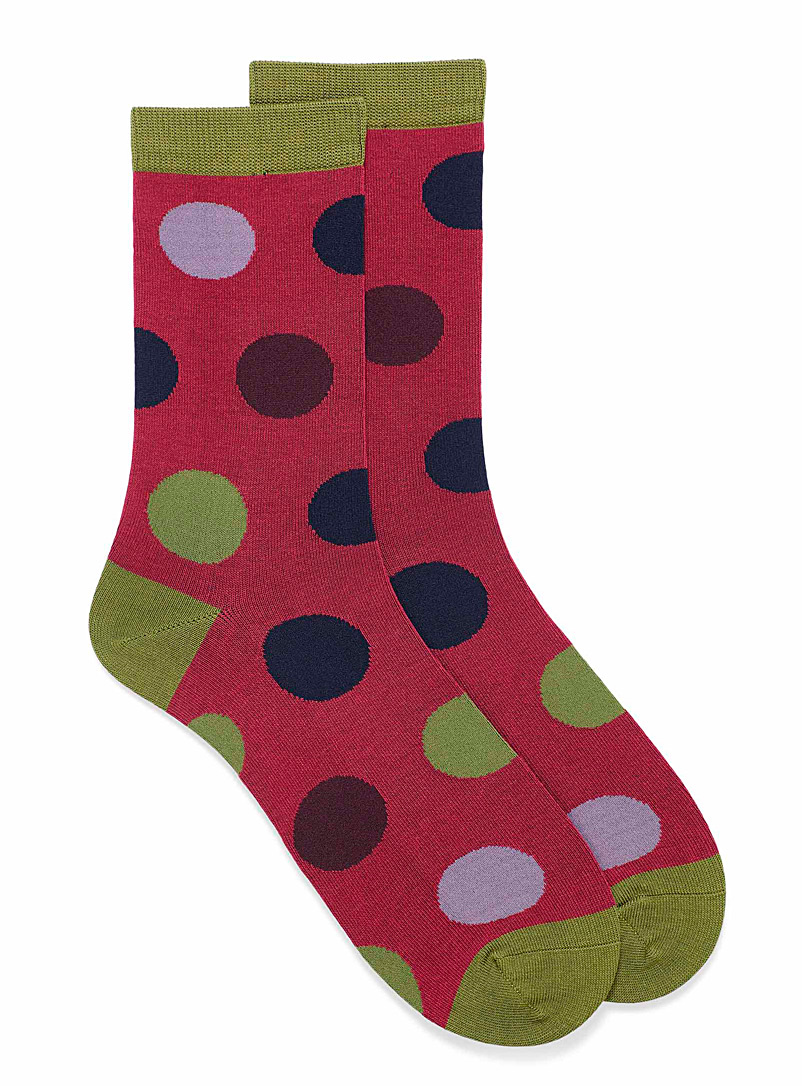 Newton dot socks