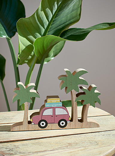 Simons Maison Assorted Sunny escape wooden decoration