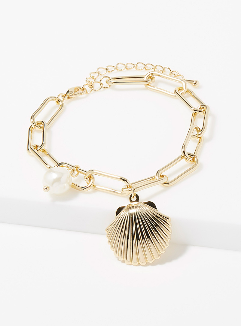 le-bracelet-coquillage-metallique