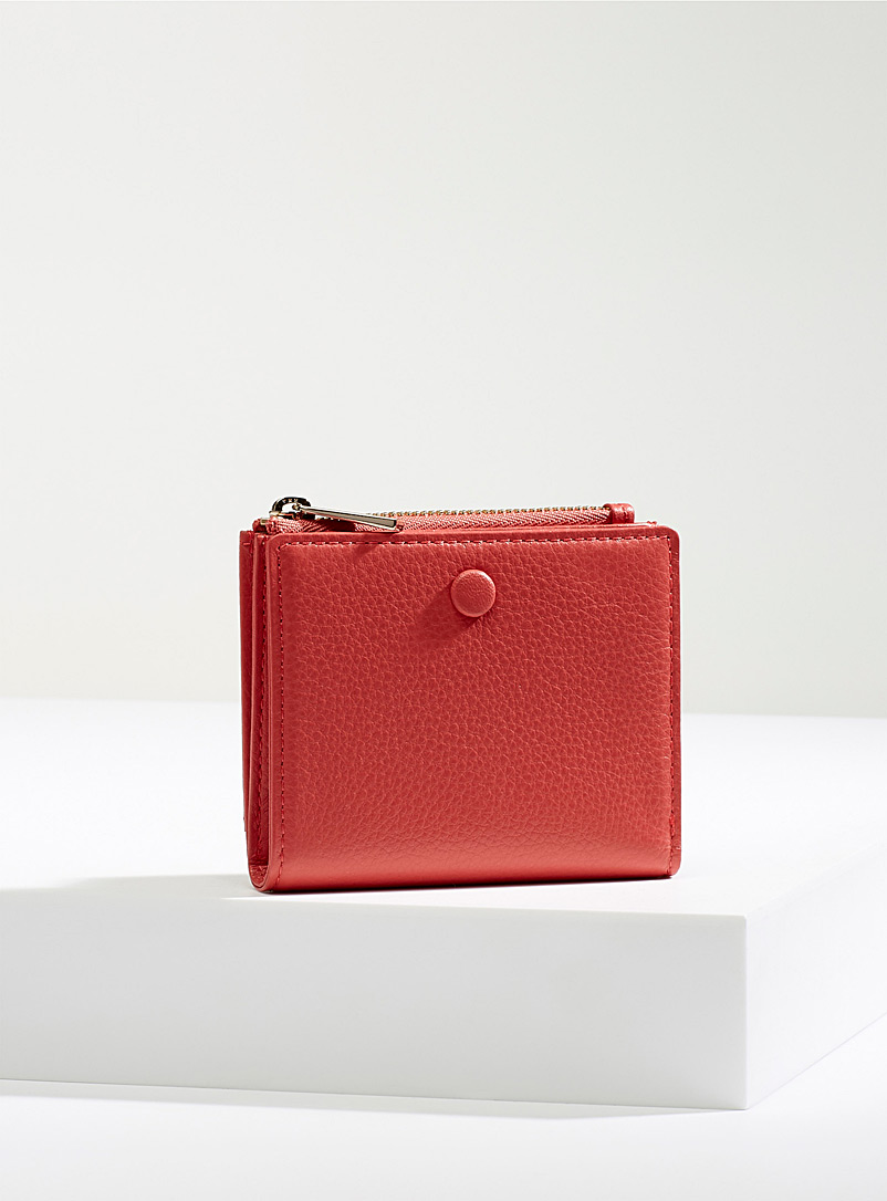 OAD NEW YORK: Le portefeuille Everywhere Rouge pour femme