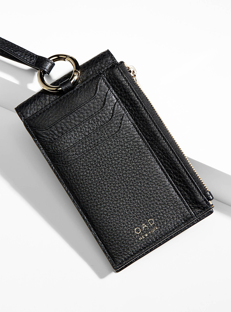 OAD NEW YORK Black Izzi phone clutch for women
