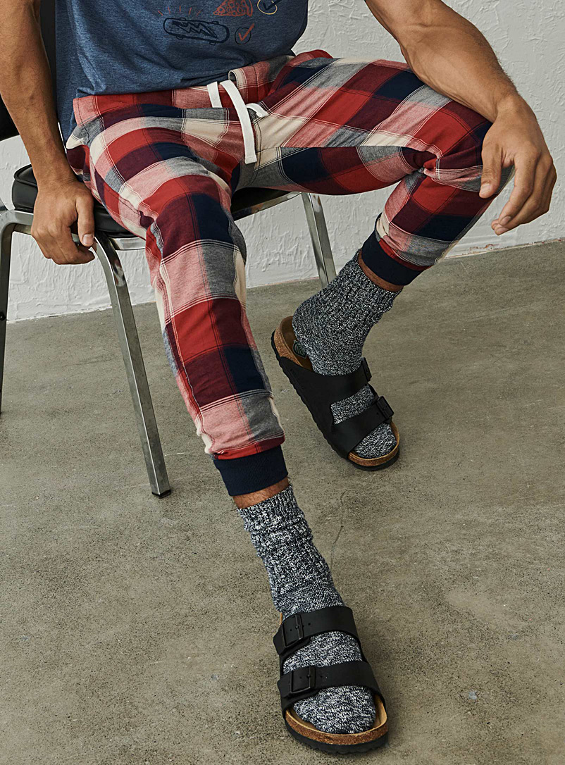 Organic cotton rustic lounge joggers