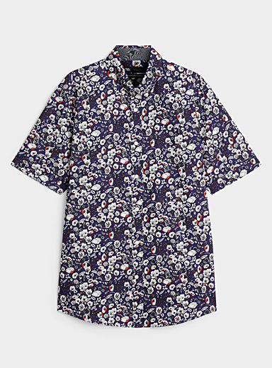La chemise panorama floral  Coupe moderne