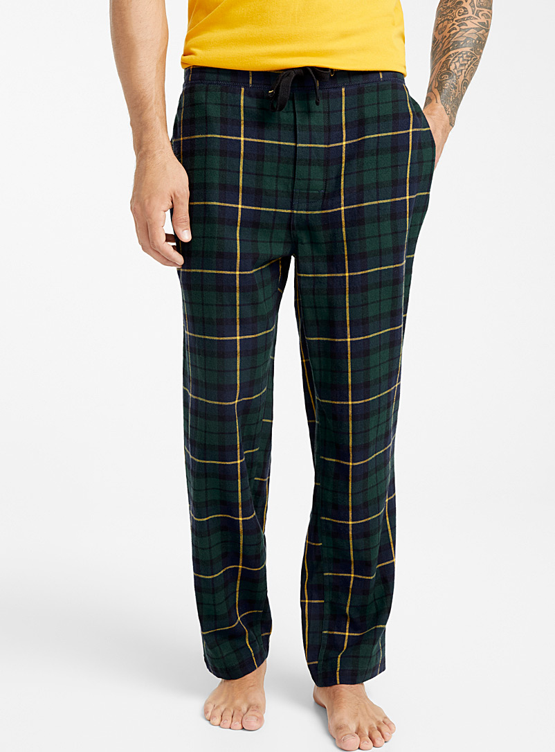 patterned-flannel-pyjama-pant