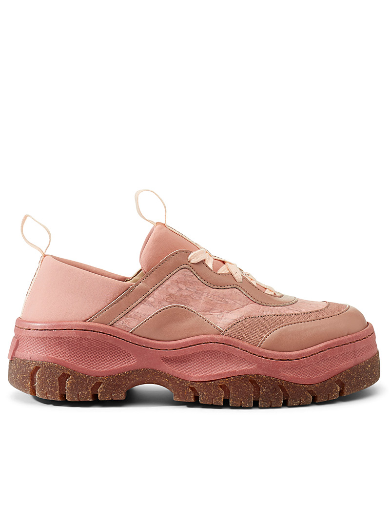 Pink oversized sneakers - Flats - Dusky Pink