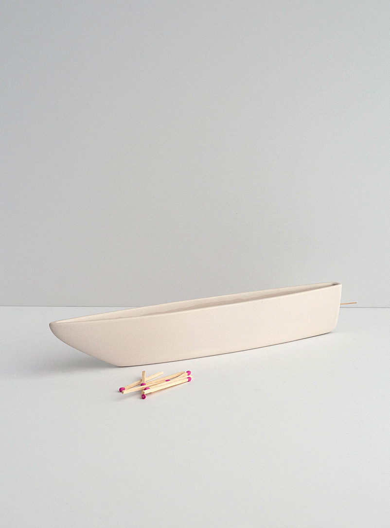 Mercury Bureau Warm White Drift incense holder