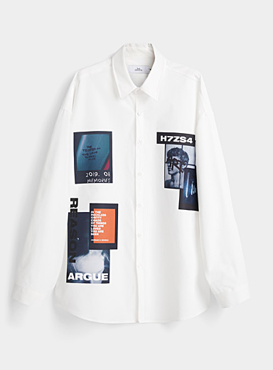 Djab White Exposition shirt for men