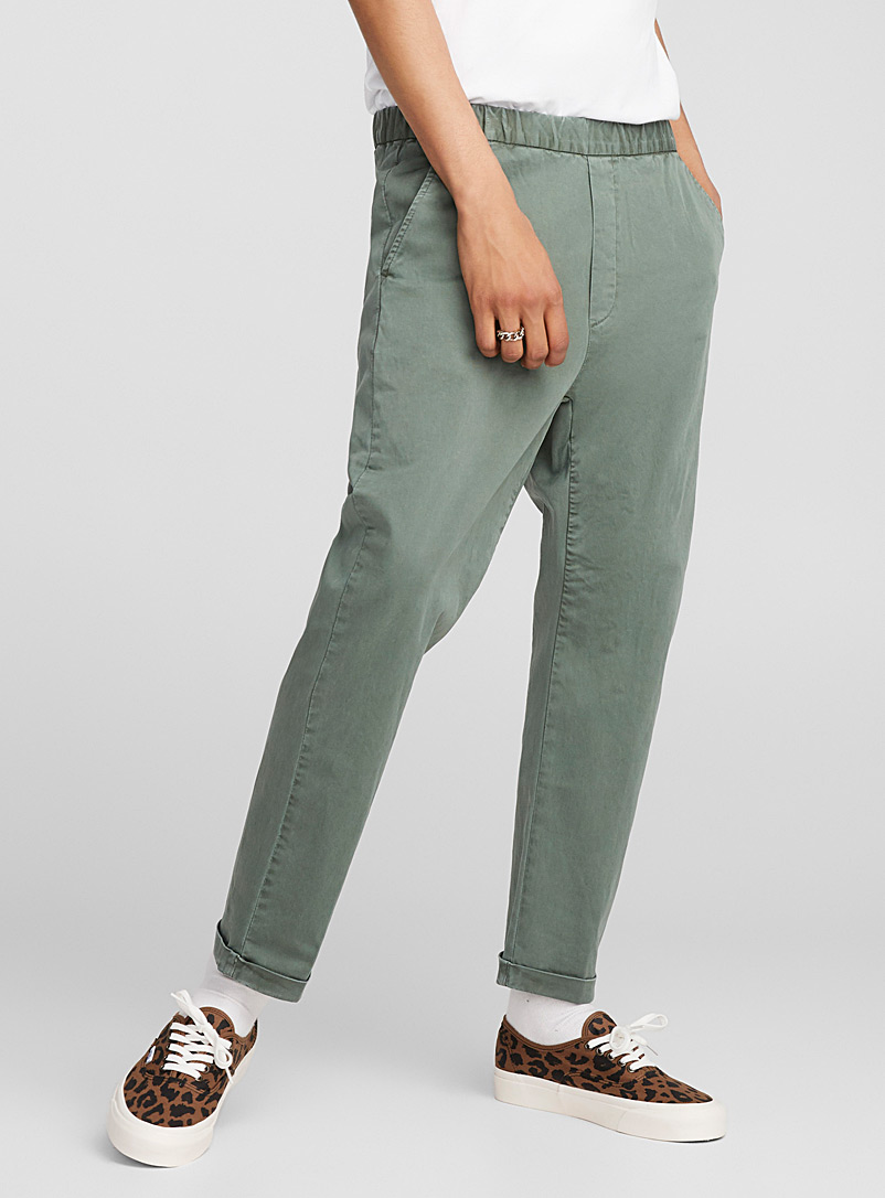 Pull-on chinos - New Proportions - Green