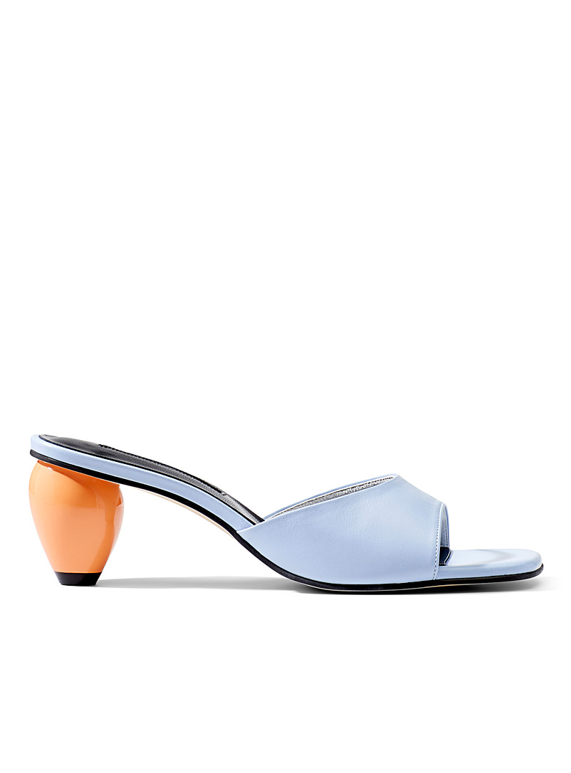 YUUL YIE Baby Blue June heeled sandals for women