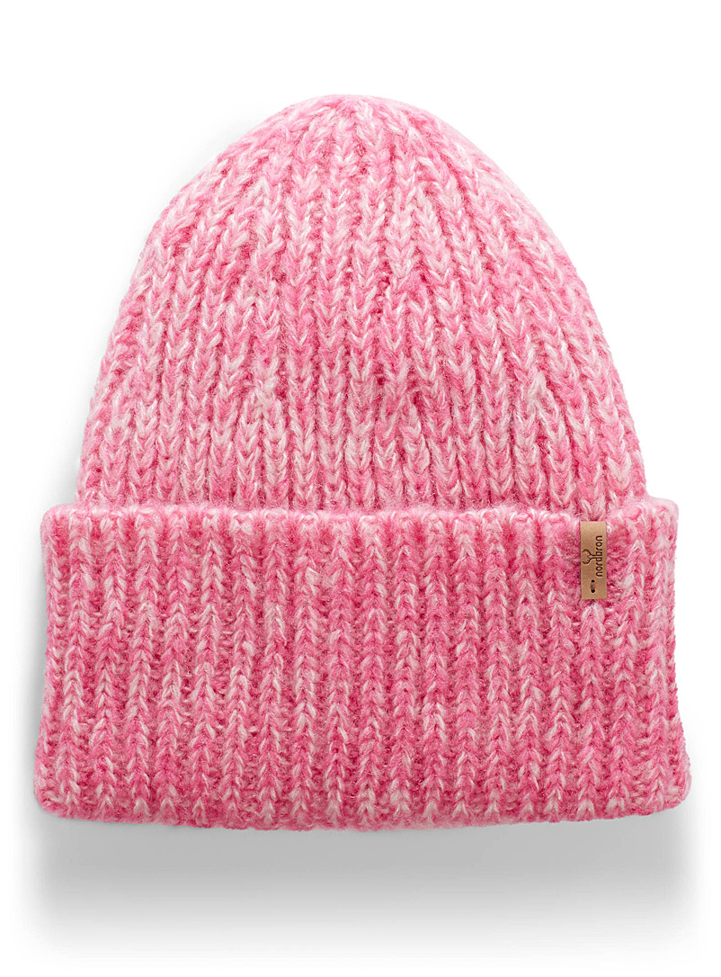 Gyro wide cuff tuque - Tuques & headbands - Pink