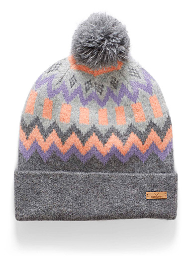 Indy soft jacquard tuque