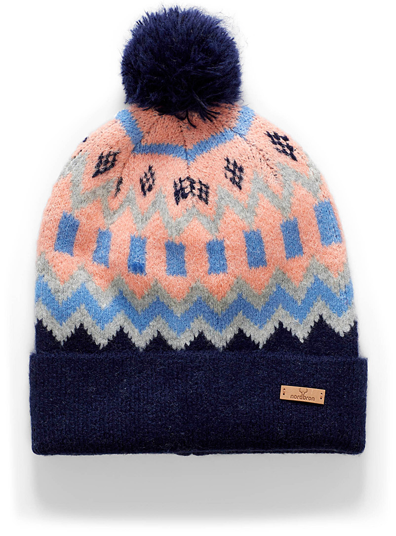 Indy soft jacquard tuque - Tuques & headbands - Marine Blue