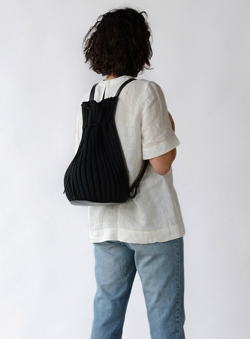 Hoi Bo Black Exhale Supernova backpack