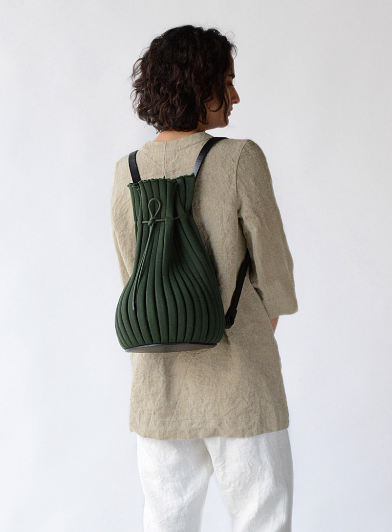 Hoi Bo Green Exhale Supernova backpack