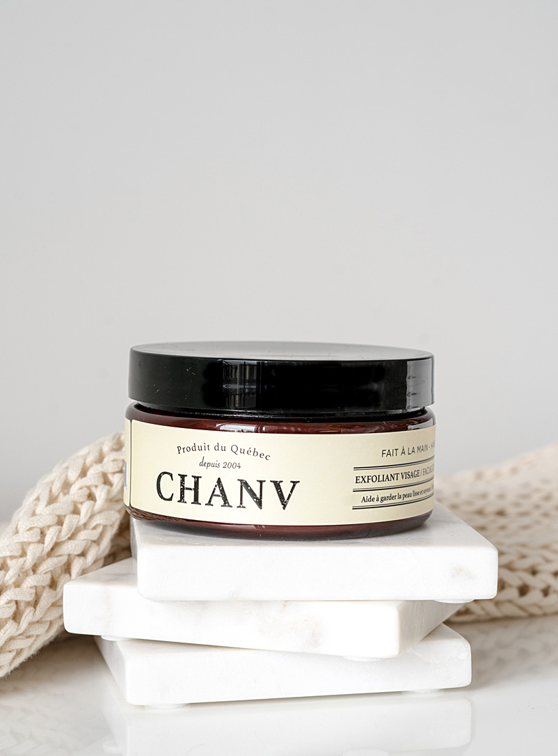 Chanv Cream Beige Facial scrub