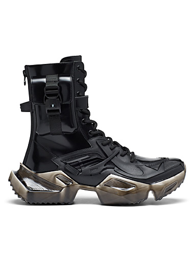 3D tactical high-top sneakers Men