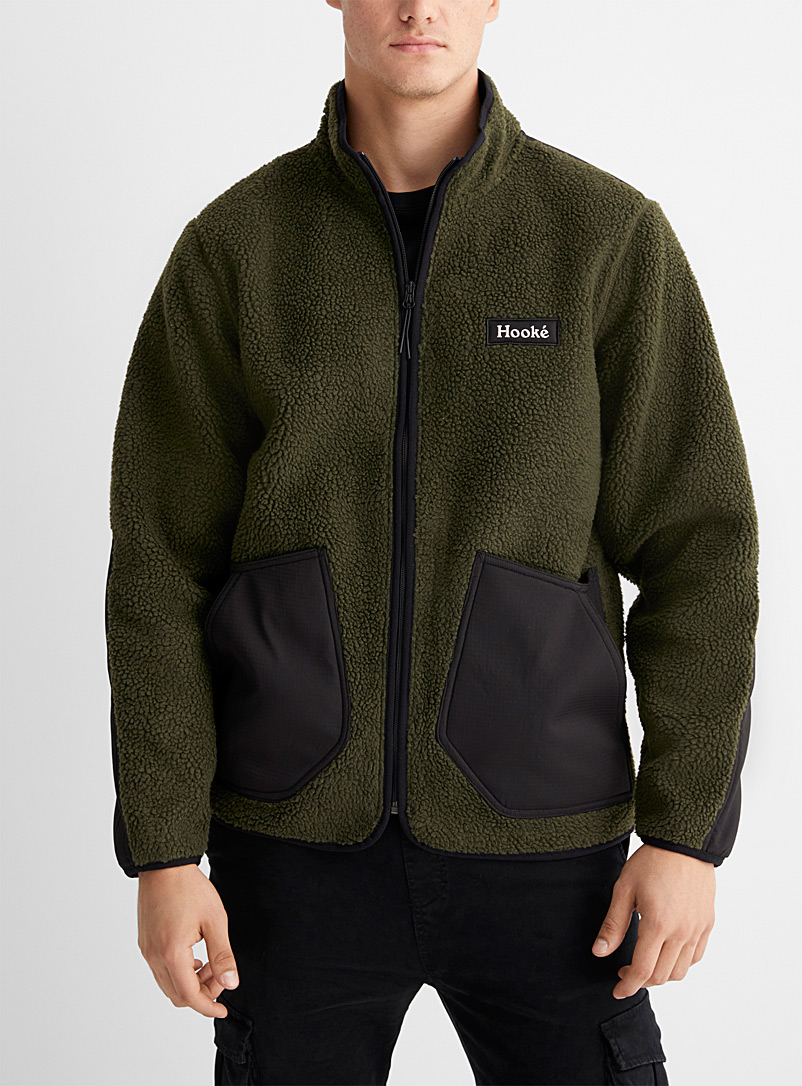 Hooké Mossy Green Anticosti jacket for men