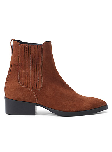 Simons Fawn Pointed Chelsea boots for women