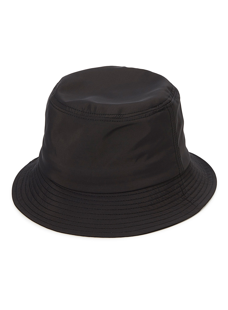 Colourful monochrome bucket hat - Hats - Black